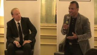 The Fleet Street Sporting Club presents an exclusive interview with Sugar Ray Leonard from the Cafe