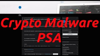 PSA: BEWARE OF CRYPTO MALWARE!