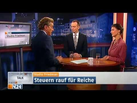 Studio Friedman - Steuern rauf für Reiche (27.06.2013 , N24 de)