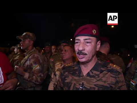 Mosul celebrates first anniversary of defeat of IS