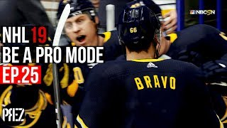 FLYING LIKE AN EAGLE!! | NHL 19 Be A Pro Mode Ep.25 (Xbox One X)