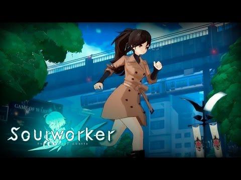 Soul Worker Online (Anime MMORPG): Frontline (Grace City) Myst Scythe Gameplay (F2P Extra CB Japan)