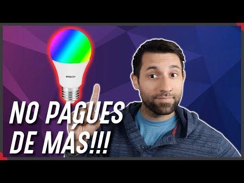 Las mejores BOMBILLAS INTELIGENTES para ALEXA 💡 from YouTube · Duration:  7 minutes 11 seconds