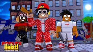 ROBLOX - HEIST - THE CRAZIEST GANGSTERS IN TOWN!!