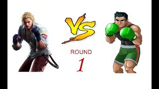 MUGEN (EC): STEVE F.  vs  LITTLE MAC - ROUND 1 (REQUEST)