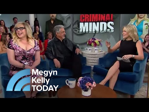 Joe Mantegna And Kirsten Vangsness Reveal Secrets Of 'Criminal Minds'  Megyn Kelly TODAY