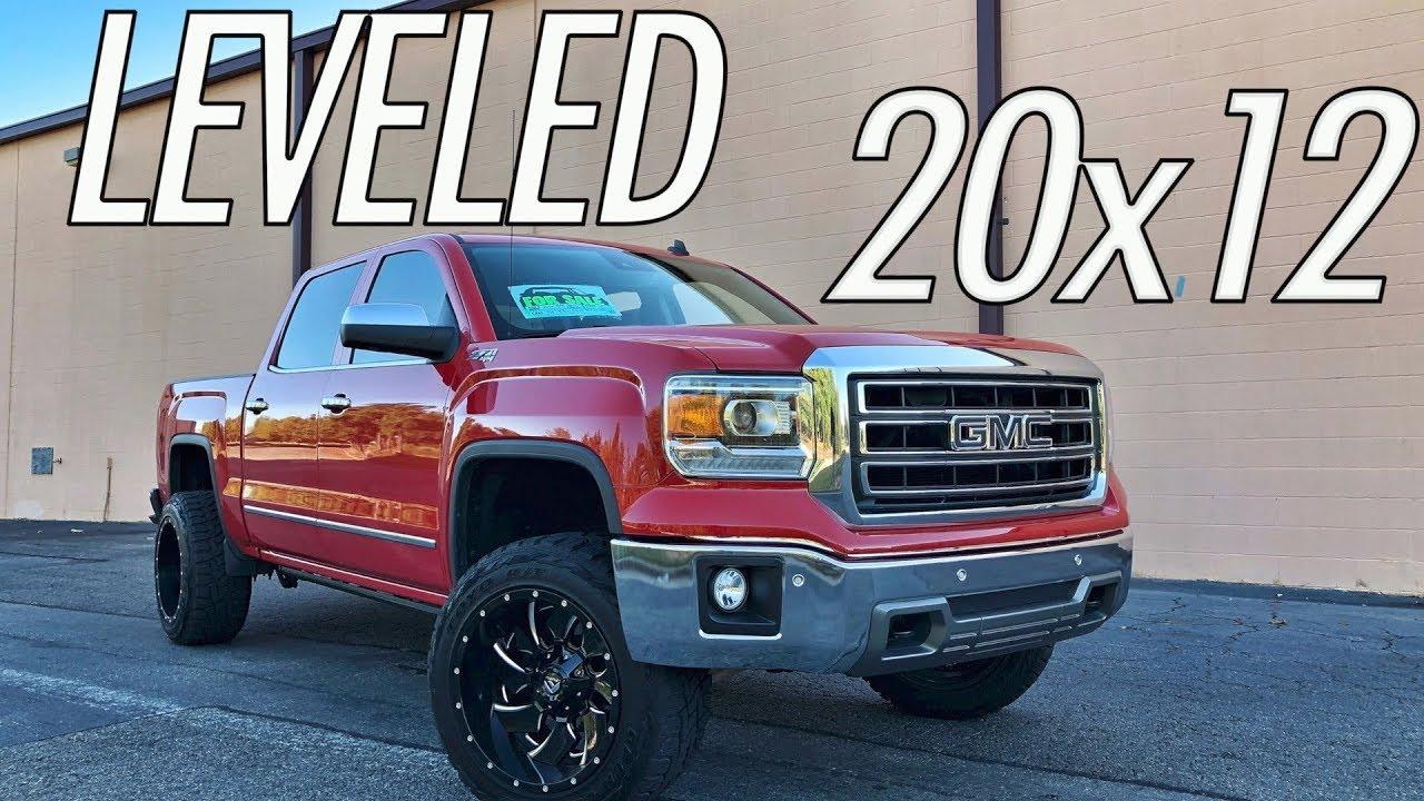Full Walk Around - 2014 GMC Sierra | Leveled | 20x12 | 33s ...