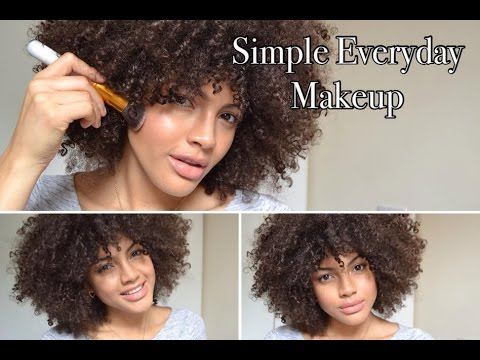 simple everyday makeup for beginners  youtube