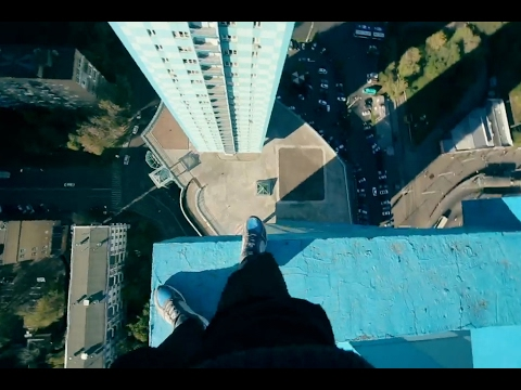 Taking Rooftopping to Terrifying Heights in POV | URBEX