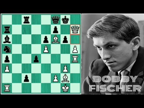 "Amazing game of the great ""BOBBY FISCHER"""