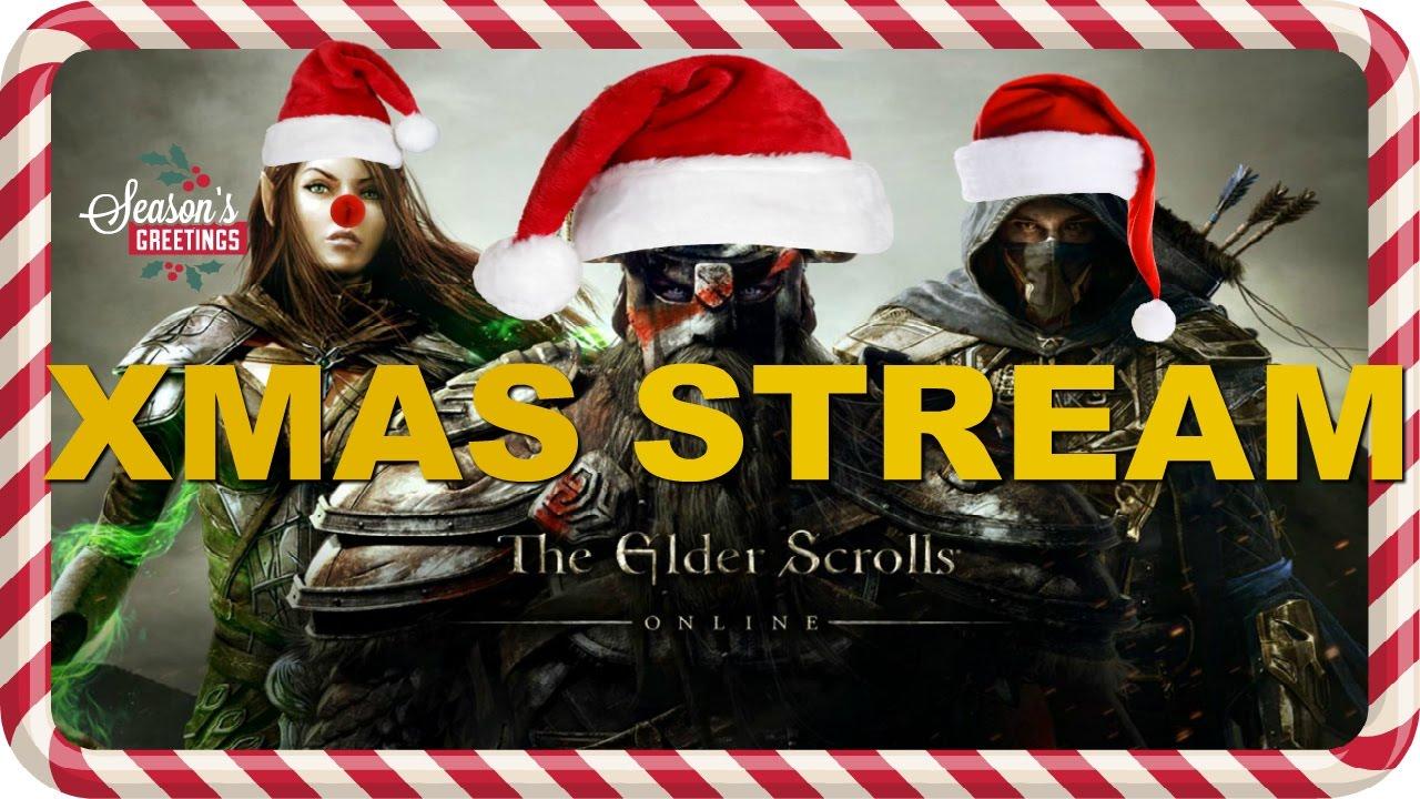 I'm Spending Christmas in The Elder Scrolls Online - GRM ESO ...