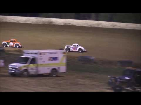 Ohio Valley Roofers Legend Car Heat #2 from Florence Speedway, April 8th, 2017.
