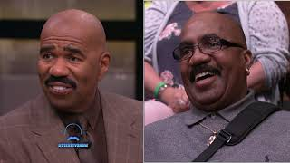 Steve's Long Lost Twin?  || STEVE HARVEY