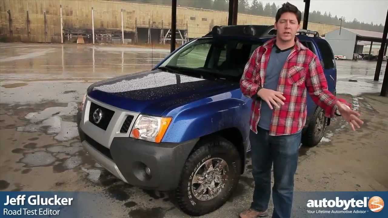 2012 Nissan Xterra PRO 4X Off Road Test Drive U0026 SUV Video Review   YouTube