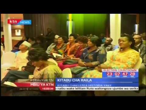 """Raila Odinga azindua kitabu chake kipya """"The Quest for Nationhood"""""""