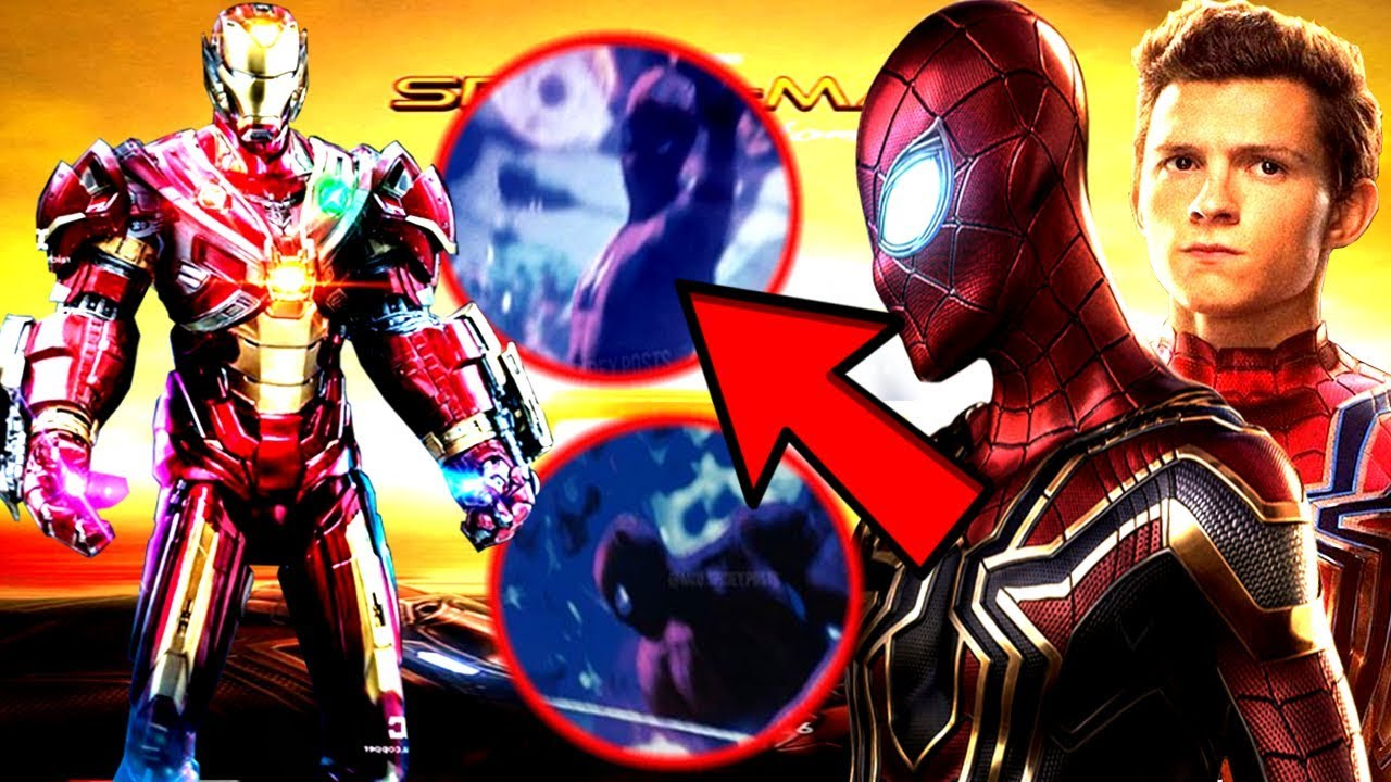 spider-man far from home leaked images revealed!? new spider-man