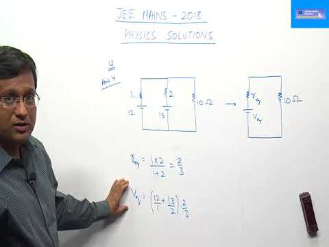 JEE MAIN 2018 (8 APRIL 2018) - PHYSICS PAPER CODE B VIDEO SOLUTION BY VIDYAMANDIR CLASSES