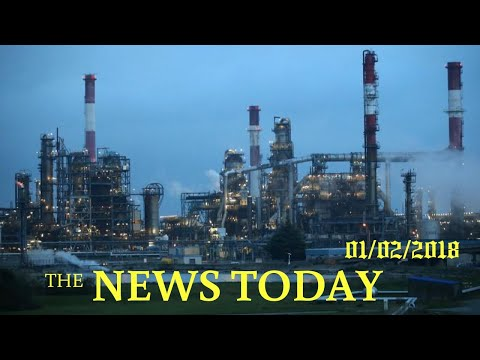 News Today 01/02/2018   Donald Trump   Oil Trades Near Strongest Levels Since Mid-2015 On Irani...