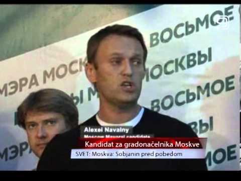 TV KANAL 9, NOVI SAD: Moskva -  Sobjanin pred pobedom