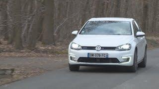 01Drive : essai Volkswagen Golf GT, l'hybride électrique très techno