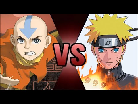 Avatar Aang VS Naruto(Early 4th Great Ninja War)!! - Who is Stronger?