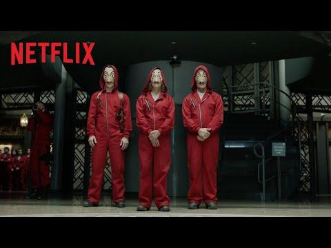 La Casa de Papel  Parte 2   oficial  Netflix