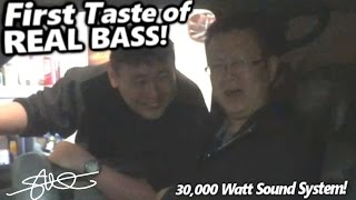 First Taste of REAL BASS! Who From China (30,000 Watt Sound System)