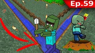 Tackle⁴⁸²⁶  Minecraft (1.10) #59 - หลุมดัก Zombie