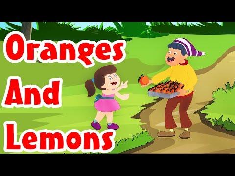 Oranges And Lemons | Nursery English Rhyme