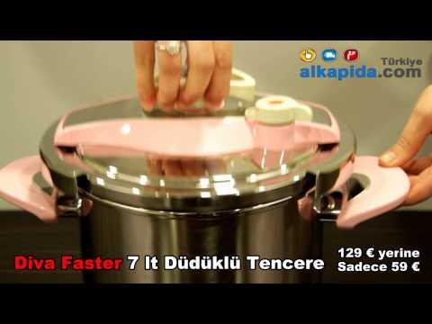 Diva Faster 7 lt Düdüklü Tencere | Alkapida.com