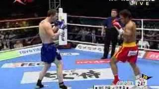 K-1 WGP IN TAIPEI Yang Tong Hsiung vs Matt Campbell part 2/2
