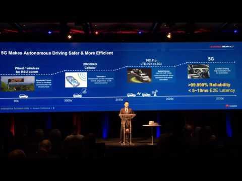 Leon Zhang talks 5G at Huawei's third annual ICT Roadshow Australia