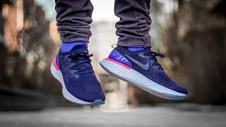 NIKE EPIC REACT ON FOOT REVIEW