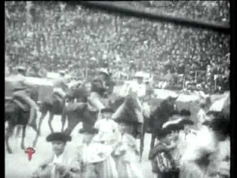 Toreros para la historia - José Gómez Ortega Gallito parte 2 Homenaje a Florentino Ballesteros Muer