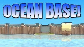 OCEAN BASE! (+God Bag Giveaway!) | ROBLOX: Booga Booga