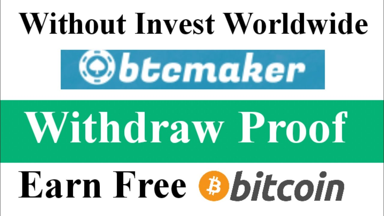 Earn Free BTC | Withdraw Proof | Bitcoin Earning Website Without Investment Worldwide