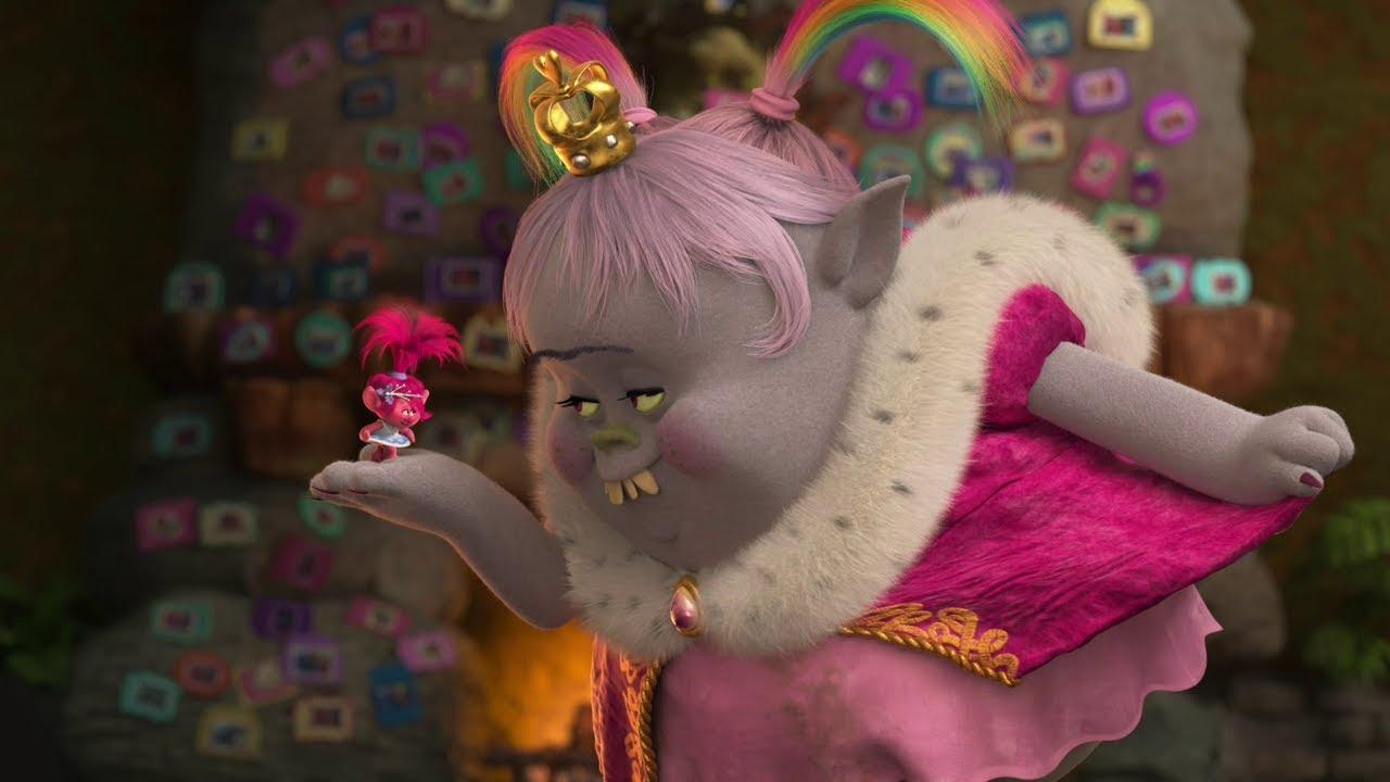 Trolls Holiday Clip Bridget Poppys Reunion Dreamworks Animated Special