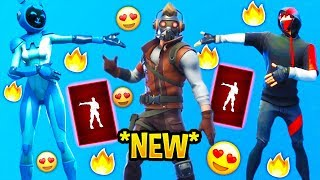 "Fortnite ""Dance Off"" Avengers Emote Showcase With Popular - Leaked Skins.!"
