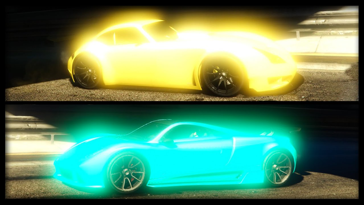 How To Get Neon Glowing Colors On Paint
