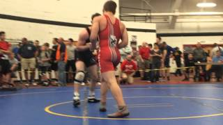 Mike Worthington (RedNose NJ - Blue) vs Teddy Limberiou (Maurer Wrestling Academy PA - Red)