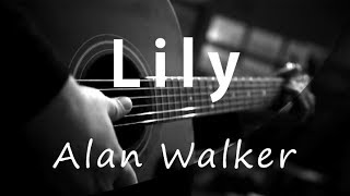 Gambar cover Lily - Alan Walker ( Acoustic Karaoke )
