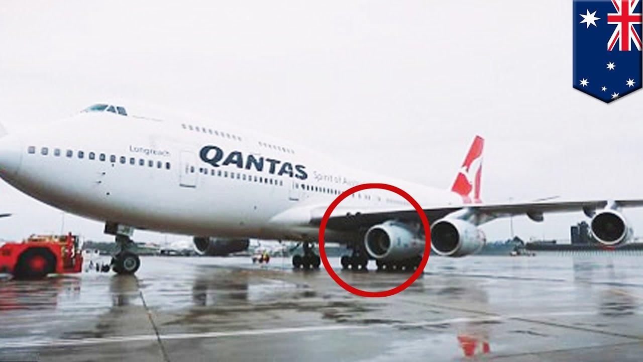 The Fifth Engine Qantas Flies Spare Engine To