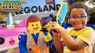 LEGOLAND Family Fun with Gaga Baby & Goo Goo Gaga (Amusement Theme Park for kids!)