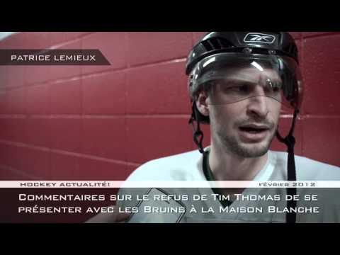 PATRICE LEMIEUX - entrevue du 31 janvier 2012