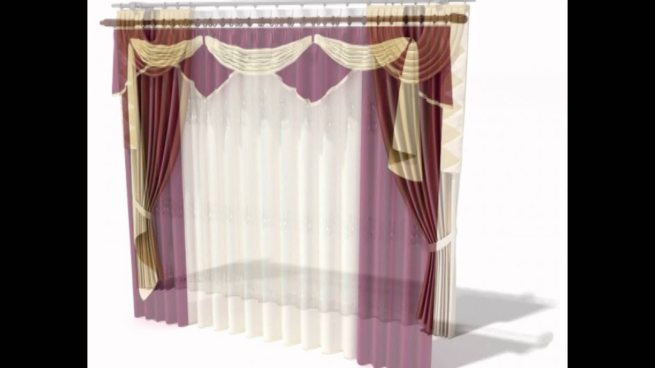 Curtain 3D Models for Download