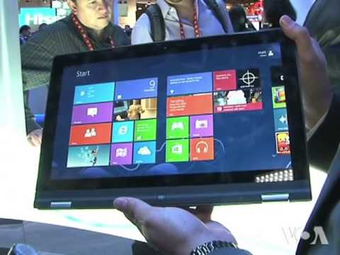 New Generation of Laptops Unveiled at Consumer Electronics Show