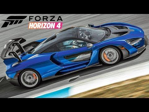 Forza Horizon 4: Primeira Gameplay - Mclaren Senna - Exclusivo Xbox One thumbnail