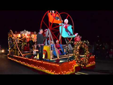 Light Up Viera parade 2015