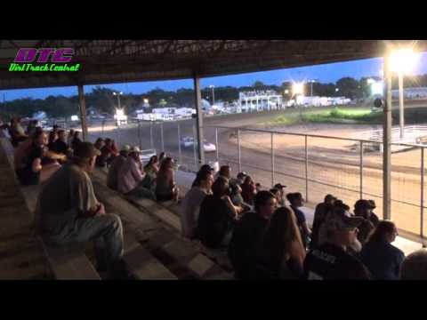 IMCA Stock Car Heat Race Thomas County Speedway 9-4-15