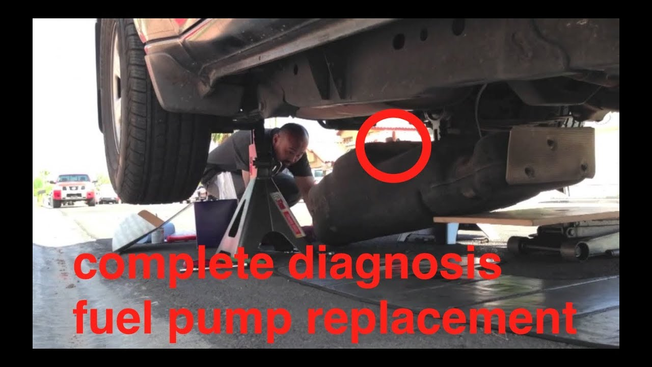 hight resolution of no start diagnosis fuel pump replacement nissan xterra fix it angel